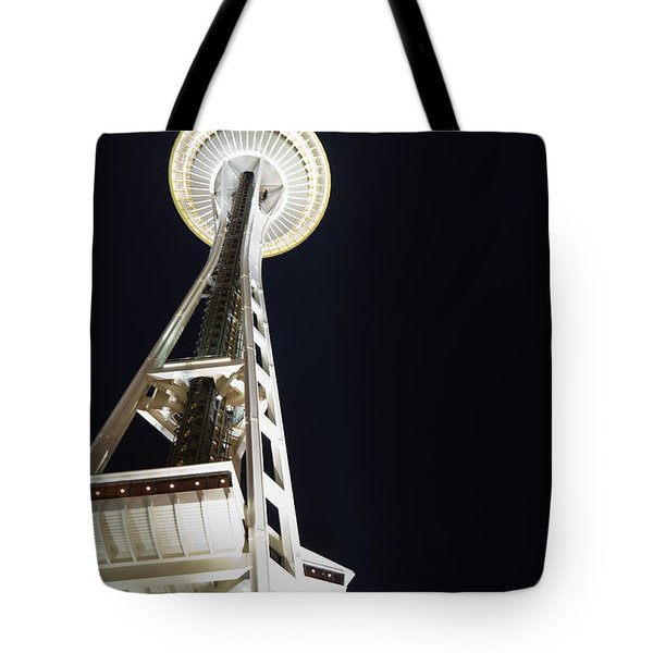 Space Needle Tote Bag by Heidi Smith