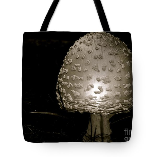 Space Oddity Earthling Tote Bag by Trish Hale