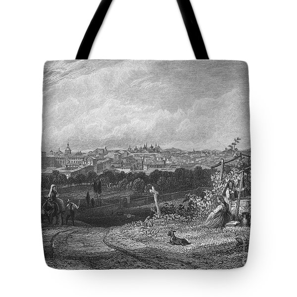 Spain: Madrid, 1833 Tote Bag by Granger