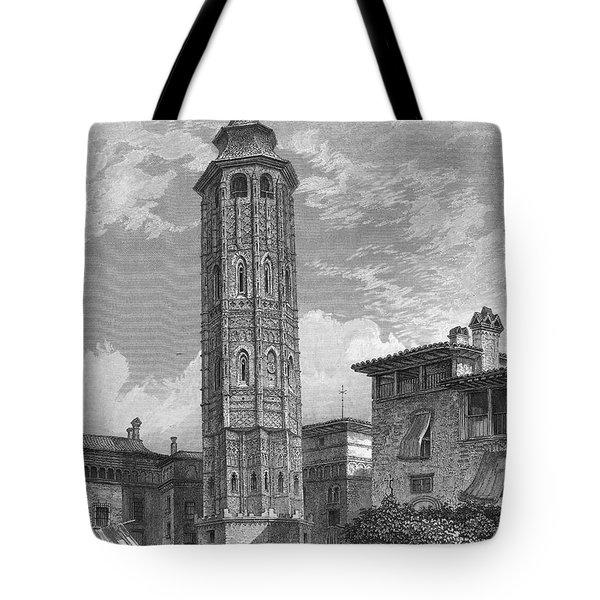 Spain: Saragossa, 1833 Tote Bag by Granger