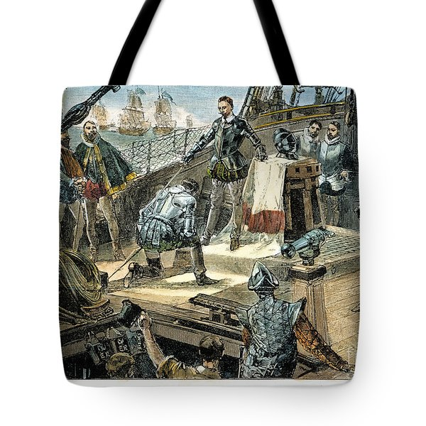Spanish Armada Tote Bag by Granger