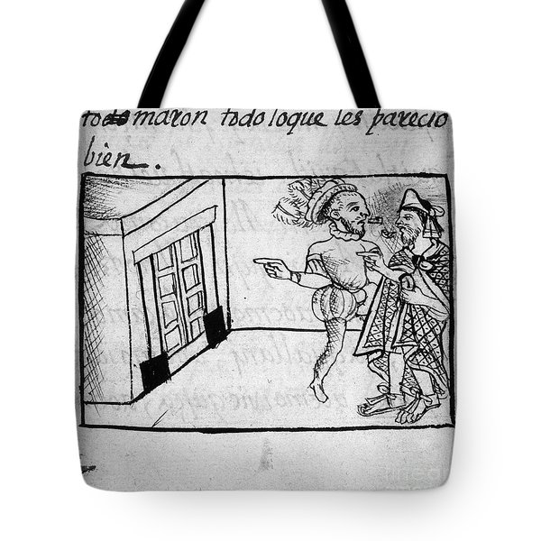 Spanish Conquest Tote Bag by Granger