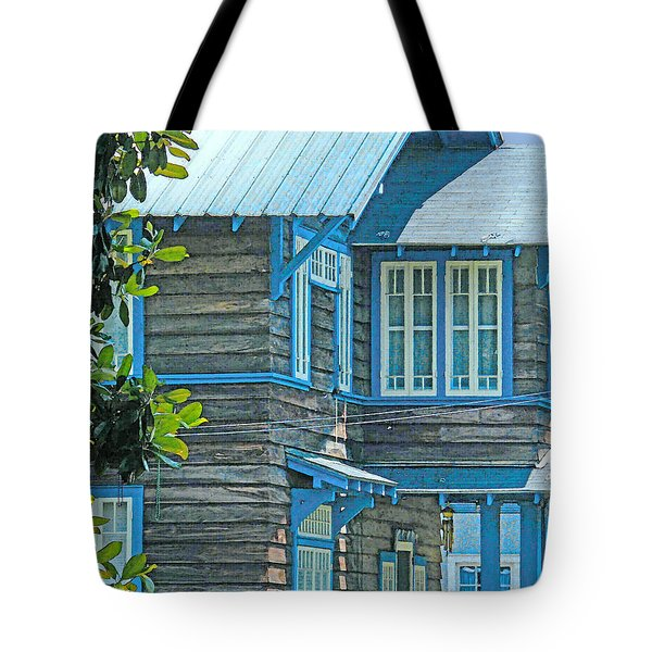 Spanish Town Blues  Tote Bag
