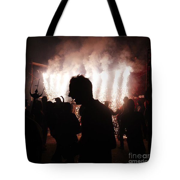 Spark Backlighting Tote Bag