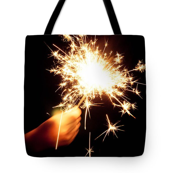 Sparklin' Tote Bag