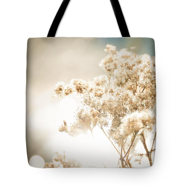 Sparkly Weeds Tote Bag by Cheryl Baxter