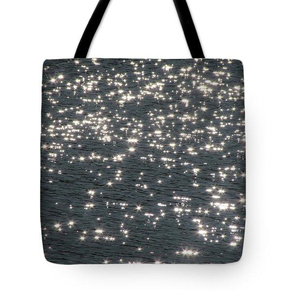 Shining Water Tote Bag by Maciek Froncisz