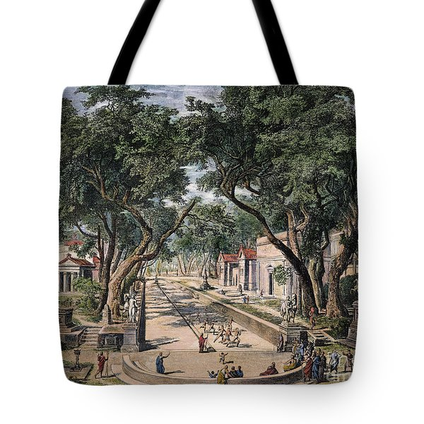Spartan Warriors Tote Bag by Granger