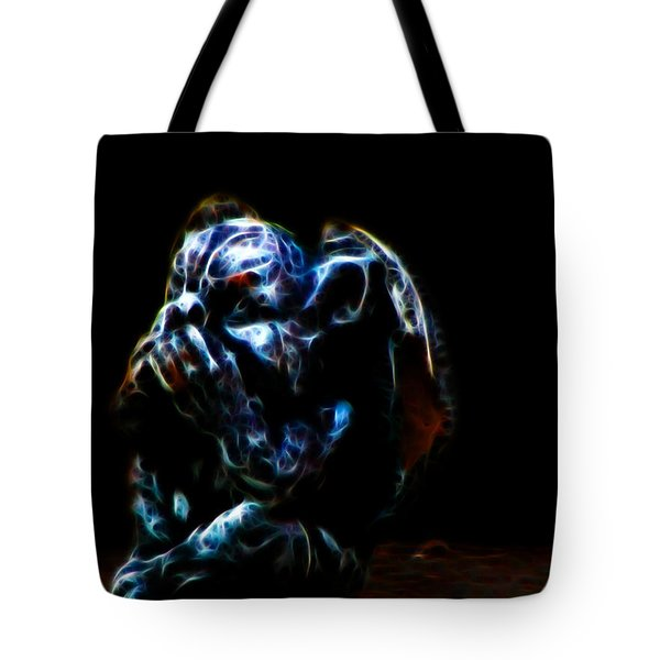 Speak No Evil Gargoyle Tote Bag