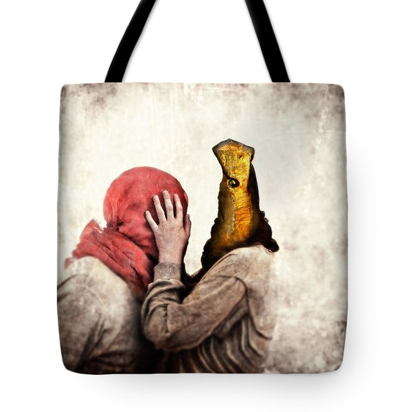 Speak To Me Tote Bag by Andre Giovina