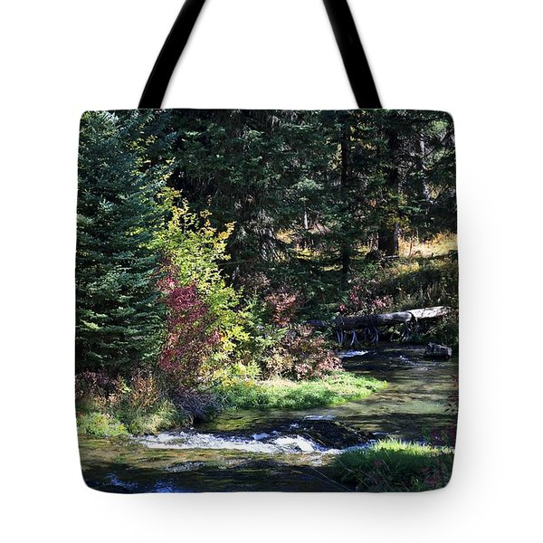 Spearfish Canyon Tote Bag