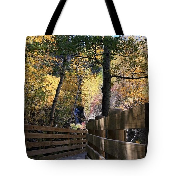 Spearfish Canyon Walkway Tote Bag