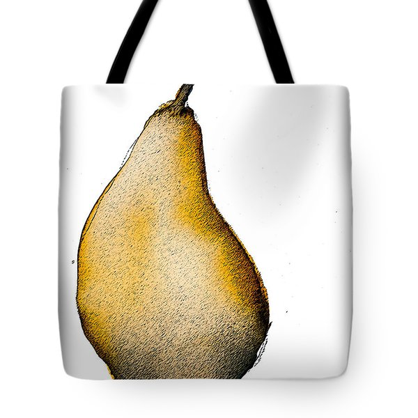 Speckled Pear Tote Bag by Jani Freimann