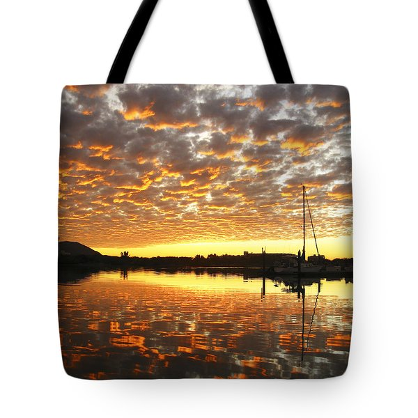 Spectacular Mazatlan Sunset Tote Bag by Anne Mott