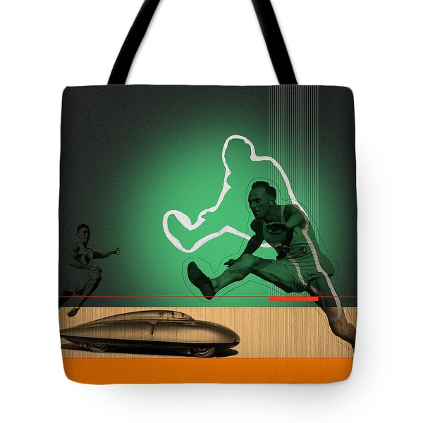 Speed Monsters Tote Bag