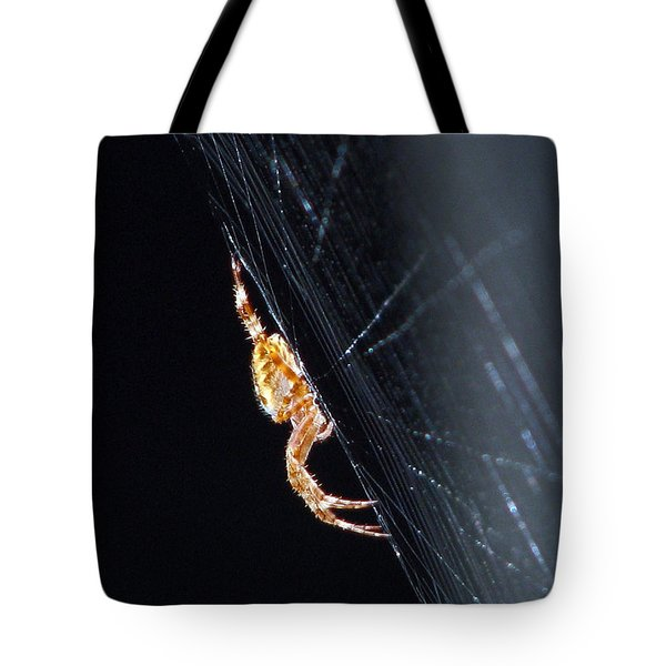 Spider Solitaire Tote Bag by Chris Anderson
