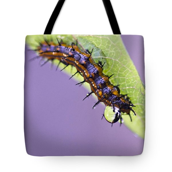 Spikes And Drops Tote Bag by Priya Ghose
