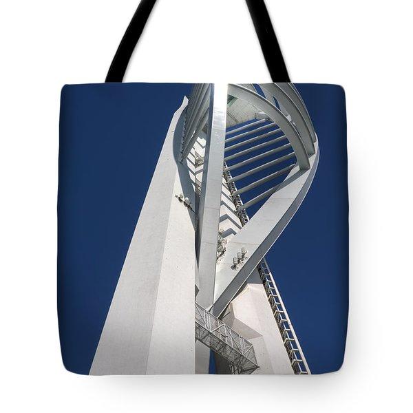 Spinnaker On Blue - 2 Tote Bag