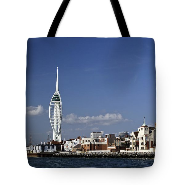 Spinnaker Tower And Round Tower Portsmouth Tote Bag