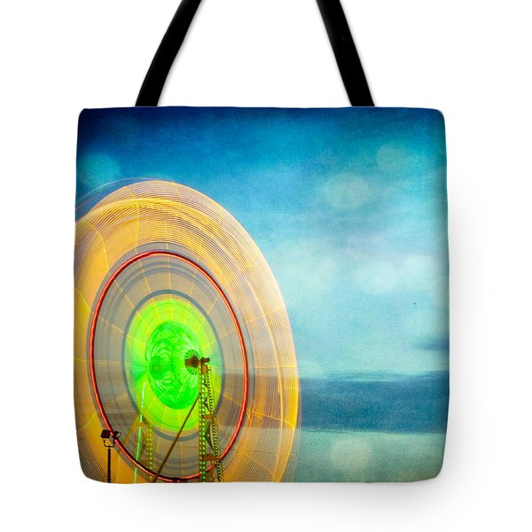 Spinning 2 Tote Bag