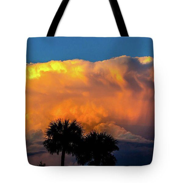Spirit In The Clouds Tote Bag by Shannon Harrington