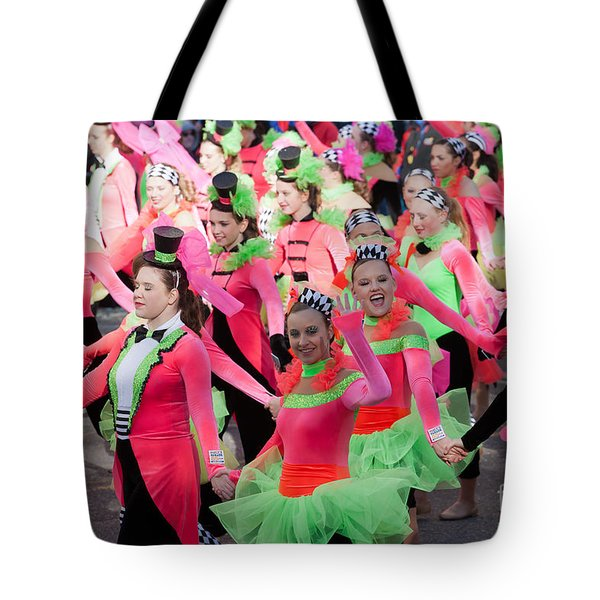 Spirit Of America Dance Team I Tote Bag by Clarence Holmes