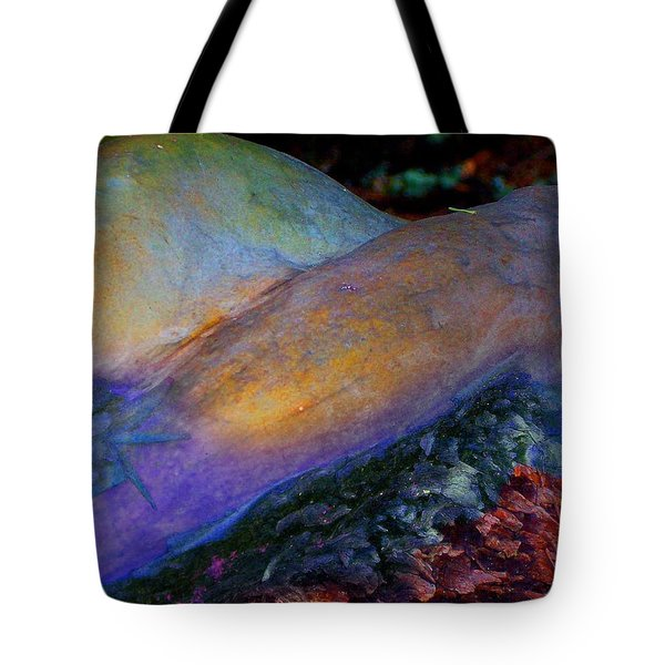 Tote Bag featuring the digital art Spirit's Call by Richard Laeton