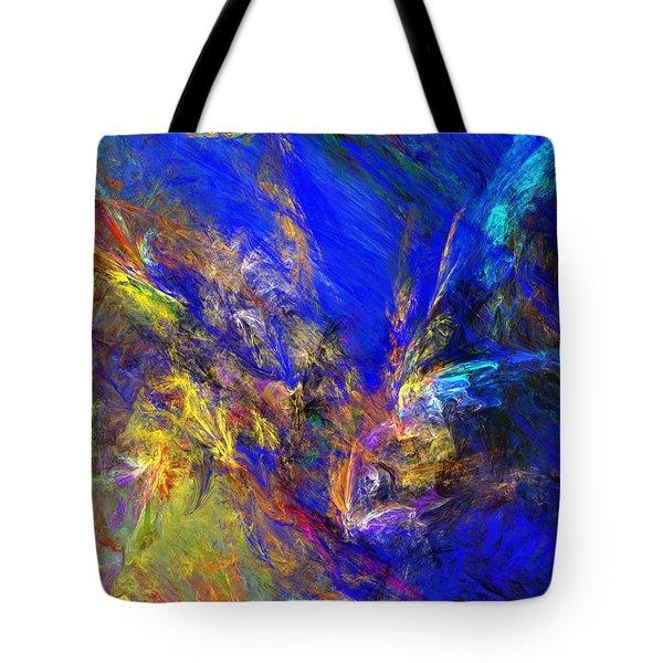Spirits Over Bay Tote Bag by David Lane