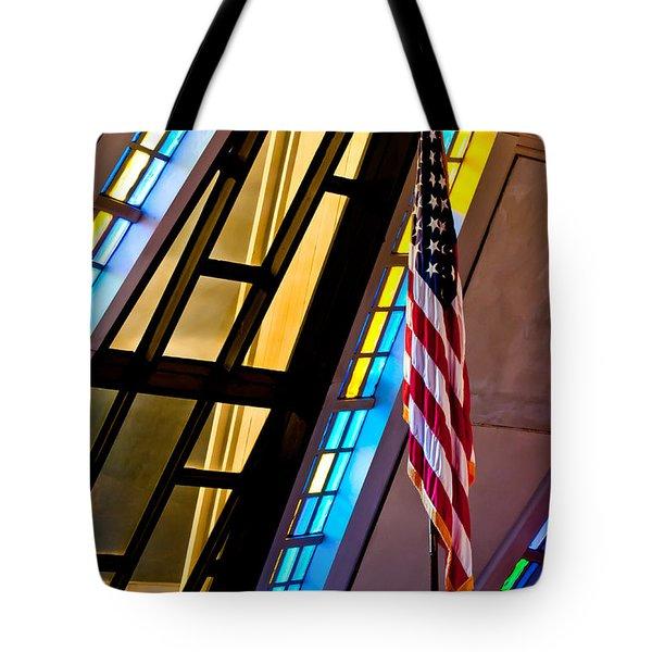 Spiritual Freedom Tote Bag