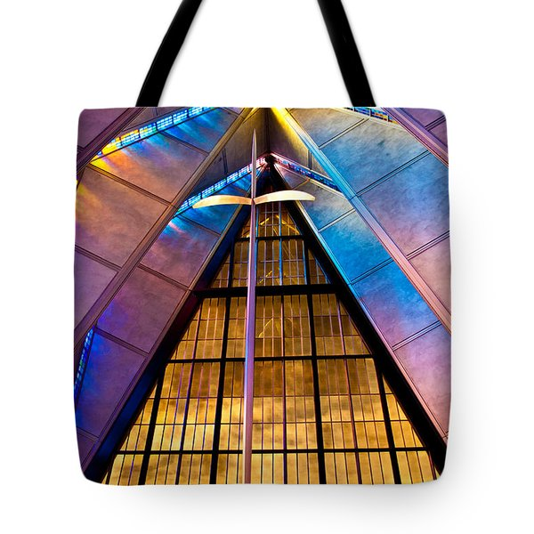 Spiritual Peace Tote Bag