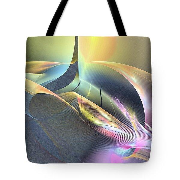 Spiritus Nocturnus - Abstract Art Tote Bag