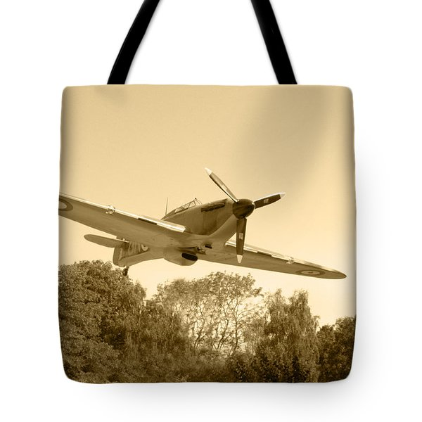 Spitfire Tote Bag by Chris Day