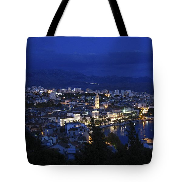 Tote Bag featuring the photograph Split Croatia by David Gleeson