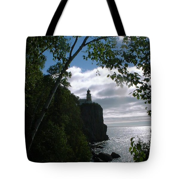 Split Rock II Tote Bag