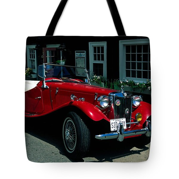 Sporty Tote Bag by Sally Weigand