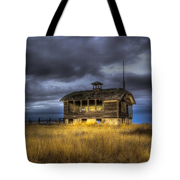 Spot On The School House Tote Bag by Jean Noren