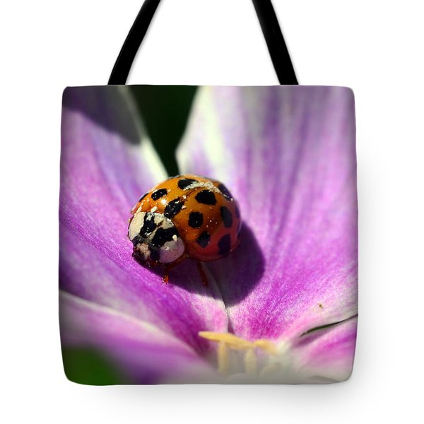 Spotted Lady Tote Bag