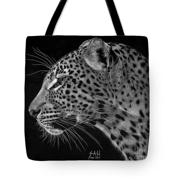 Spotted Solitude Tote Bag