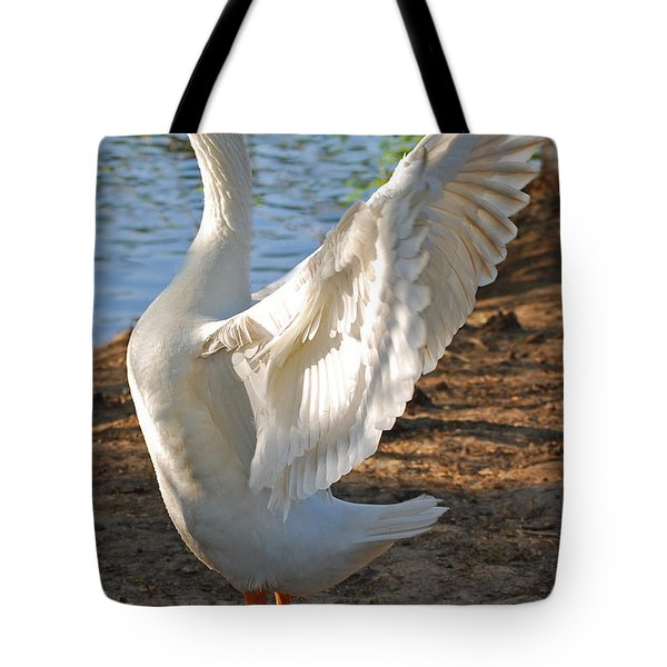 Spread Your Wings Tote Bag by Lisa Phillips