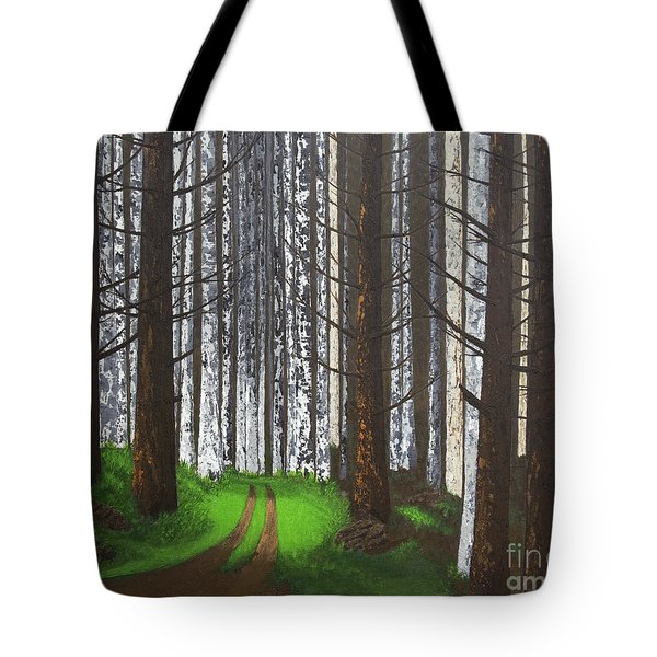 Spring After The Fire Tote Bag