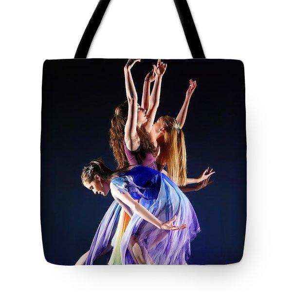 Spring Awaking Tote Bag