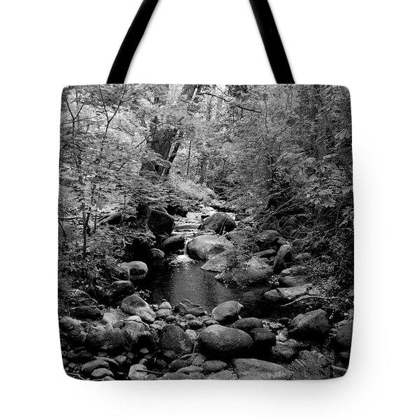 Spring Creek Tote Bag by Kathleen Grace