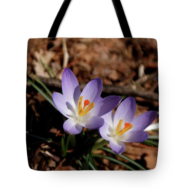 Tote Bag featuring the photograph Spring Crocus by Paul Mashburn