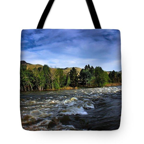 Spring Flow Tote Bag by Robert Bales