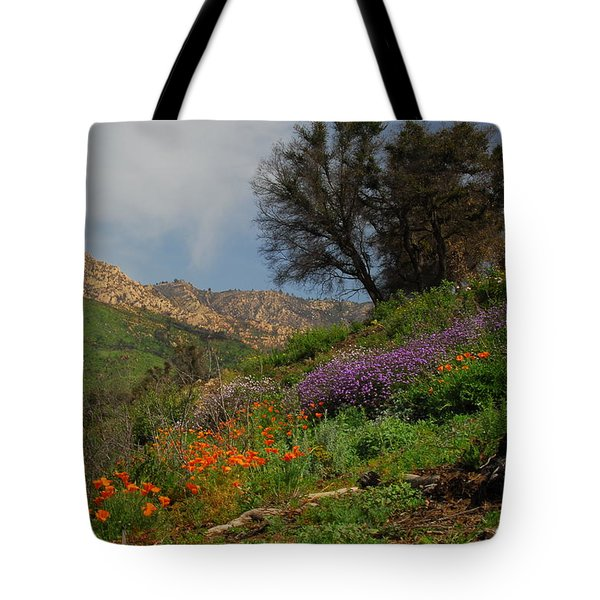 Tote Bag featuring the photograph Spring In Santa Barbara by Lynn Bauer
