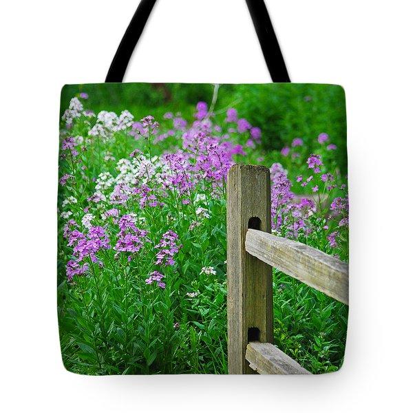 Spring Phlox 6074 Tote Bag by Michael Peychich