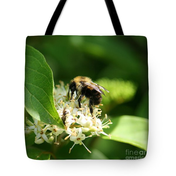 Spring Pollination Tote Bag by Neal Eslinger