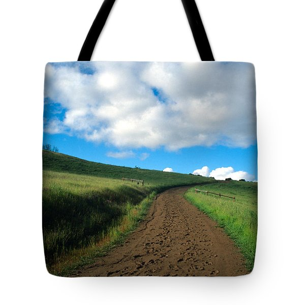 Spring Road 2 Tote Bag by Kathy Yates