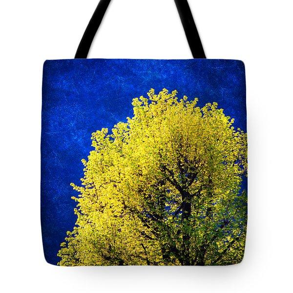 Spring Tree Tote Bag by Silvia Ganora