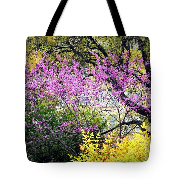 Spring Trees In San Antonio Tote Bag